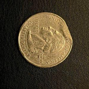 Error clipped P - quarter (Minnesota) 2005